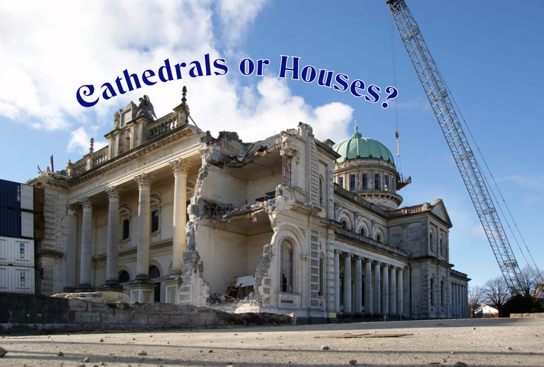 Cathedrals, Jesus, houses,