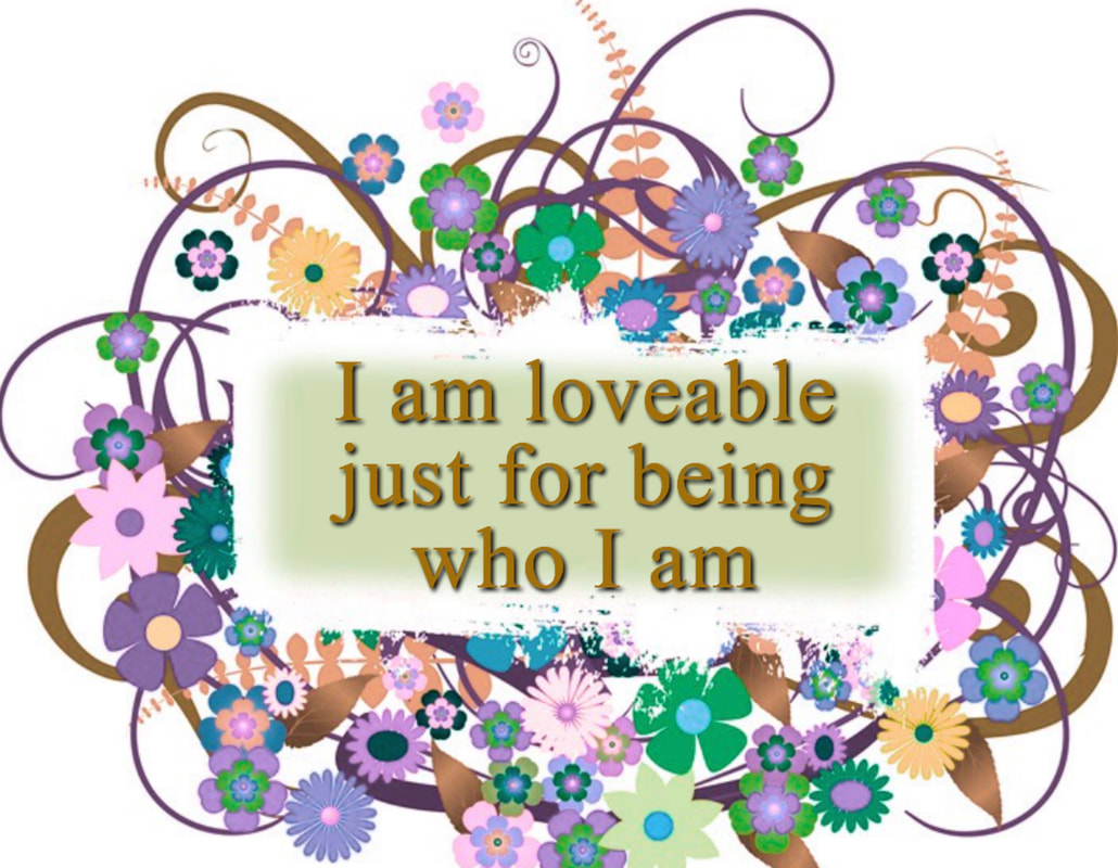 I am loveable, flowers, bouquet,